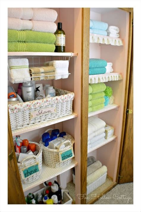 How To Organize Towels In A Closet by Project Linen Closet Reveal Pretty And Organized