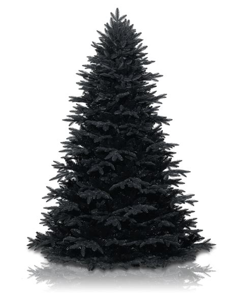 treetopia twilight black christmas tree