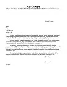 senior level communications executive cover letter
