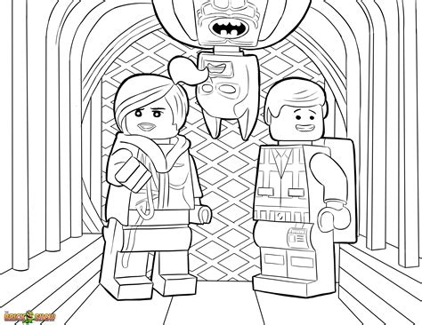 little lego coloring pages the lego movie coloring page lego wyldstyle emmet