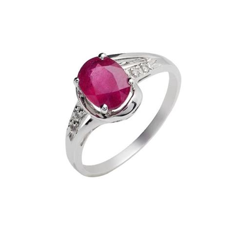 ruby ring ruby ring in silver