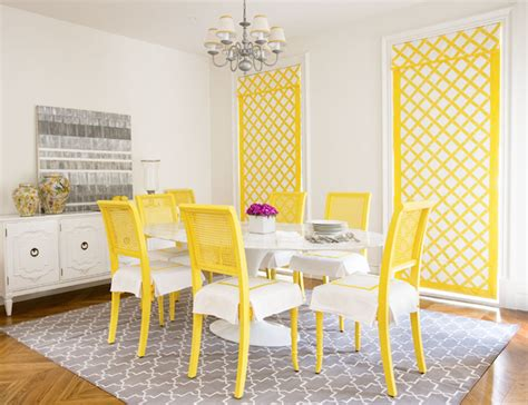 yellow dining rooms yellow and gray room contemporary dining room diane