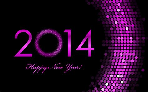 purple new year 2014 wallpaper