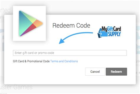 How To Redeem Google Play Gift Card On Tablet - how to redeem your google play gift card