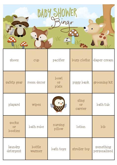 Bingo Baby Shower by 29 Sets Of Free Baby Shower Bingo Cards