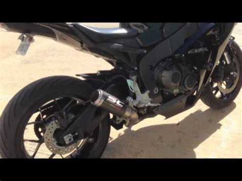 sc project cr t exhaust for honda cbr1000rr youtube