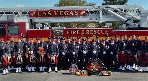 Las Vegas Welfare Office by Honor Guard Pipes And Drums