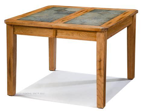 Slate Dining Table Set Hoot Judkins Sedona Oak Dining Extension Table 4 Side Chairs Set