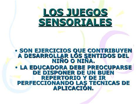 imagenes sensoriales significado y ejemplos los juegos sensoriales