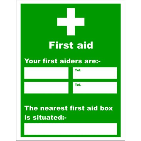 reliance your first aiders are nearest first aid box