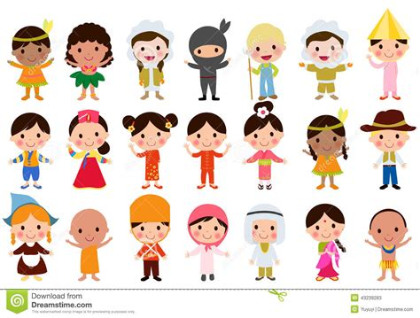 clipart bimbi world stock illustration image of happy expression