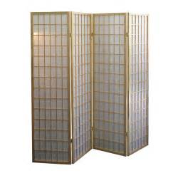 home dividers ore international basic 4 panel room divider by oj commerce 181 04