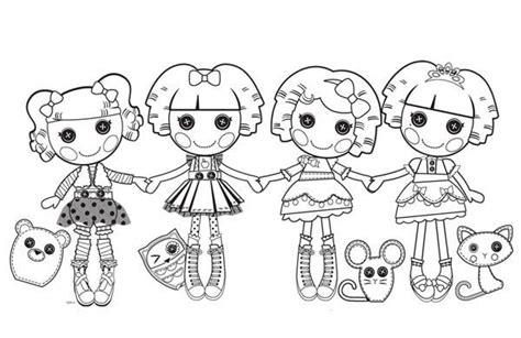 lalaloopsy coloring pages printable free lalaloopsy lalaloopsy characters coloring page
