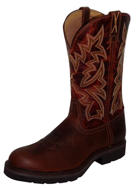 twisted x s boots pungo ridge twisted x s cowboy work pull on u toe