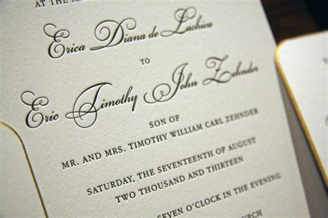 Engraved Wedding Invitations by Houston Letterpress Wedding Invitations Engraved Wedding