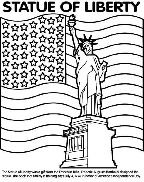 statue of liberty crayola com au