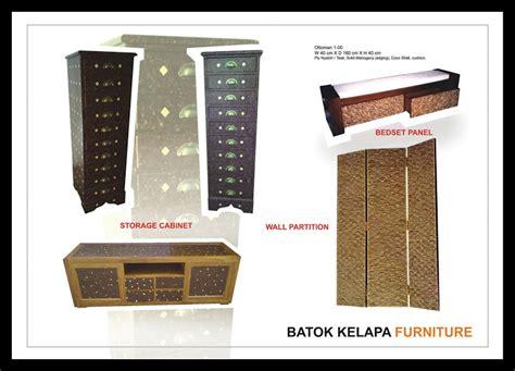 furniture khas batok kelapa  rotan