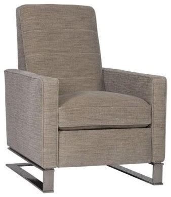 recliner contemporary tate recliner contemporary recliner chairs by