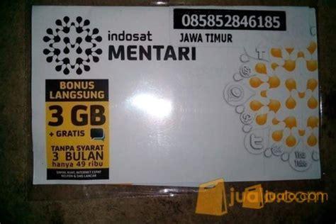 Perdana Indosat 3gb kartu perdana indosat mentari gratis 3 gb 3 bulan