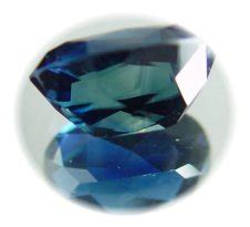 Sapphire 656 Cts untreated blue sapphire 6 56 cts well cut shape