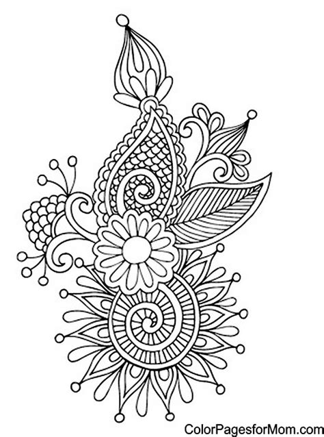 coloring pages for adults paisley paisley coloring page 10