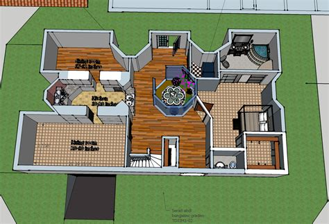 Virtual Design My Home My Google Sketchup Bungalow Seradstechdesignblog