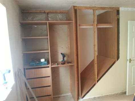 Bedroom Closet Stairs Removed The Side Of The Staircase Home Improvement Ideas