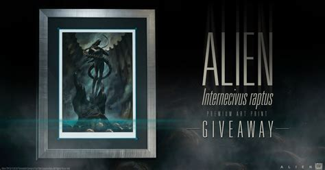 Alien Giveaway - alien print giveaway sideshow collectibles