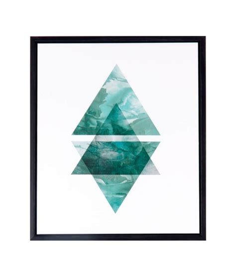 comprar un cuadro comprar cuadro triangulo 25 x 30