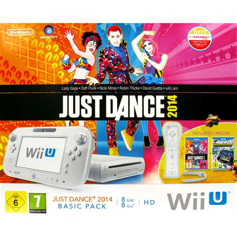wii console just nintendo wii u 8 go basic pack nintendo land just
