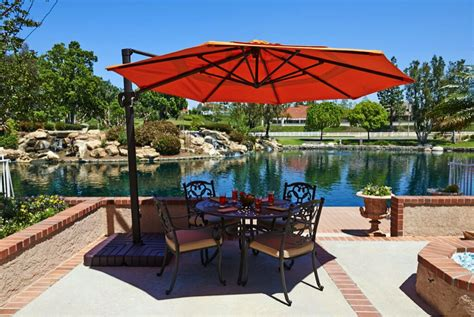 Backyard Accessories High Quality Patio Umbrellas Flint Spas