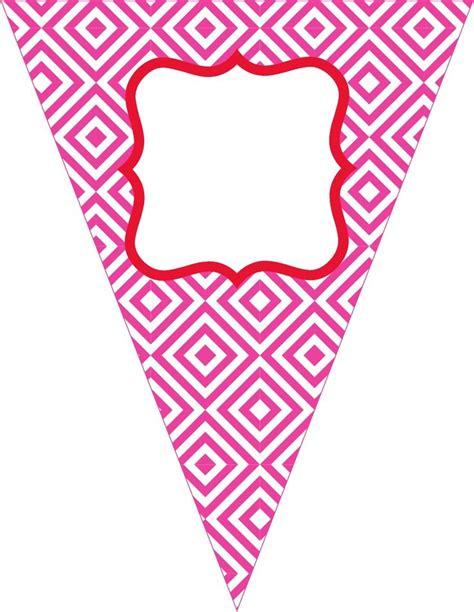 printable happy birthday triangle banner free contemporary happy birthday pennant banner natascha