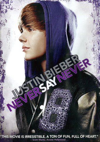 Justin Bieber Book Never Say Never Justin Bieber Never Say Never Dvd 2011 Directed By Jon