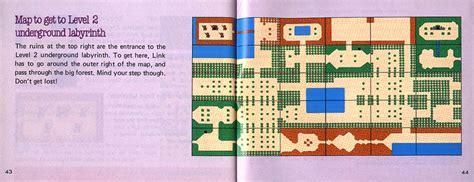 legend of zelda map scan if zelda 1 were made today gaming