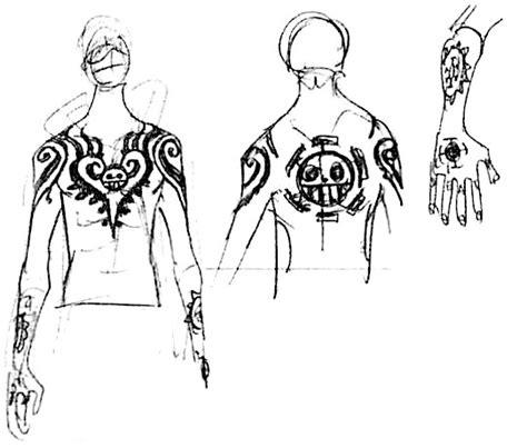 tattoo one piece law datei laws tattoo jpg opwiki das wiki f 252 r one piece