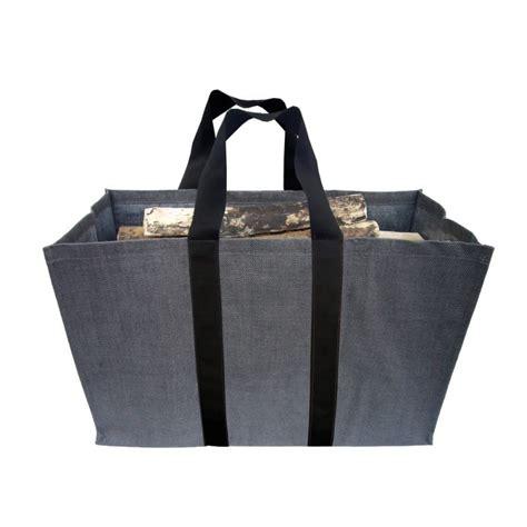 accesoire cheminee sac a bois sac a buches