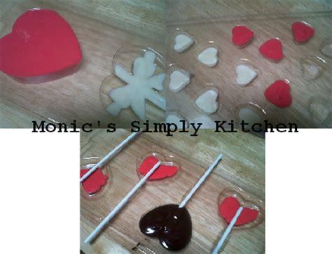 Cetakan Coklat Lolipop Bulat Kecil coklat monic s simply kitchen