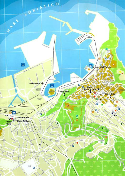 map of ancona italy ancona maps geographical political road