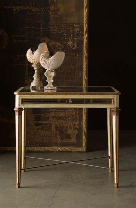 louis xvi mirrored table tara shaw