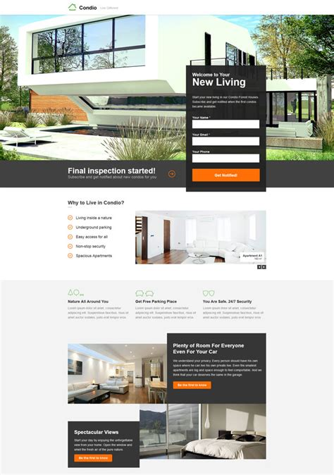15 Best Unbounce Landing Page Templates Best Real Estate Landing Page Templates