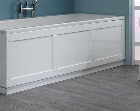 Bathtub Panel by Roper 800 Series White Front Bath Panel 1700mm Bp800w