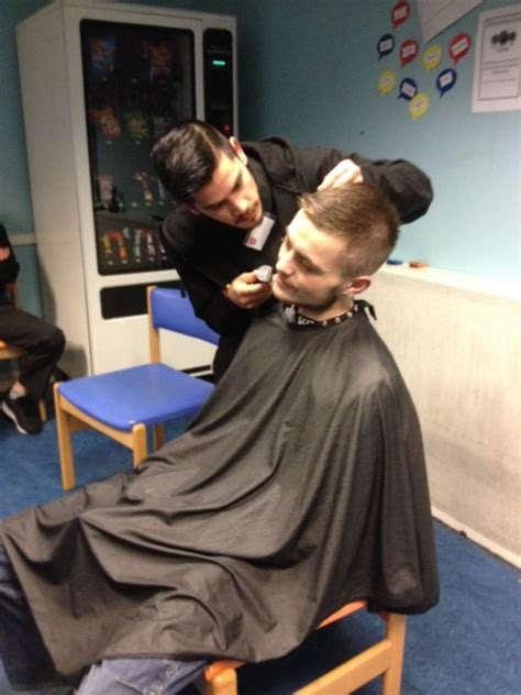 haircut edinburgh student edinburgh college takes salon skills to community