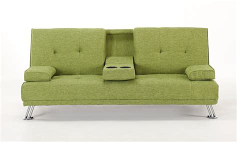 Green Sofa Bed by Fabric Sofa Bed Groupon Goods