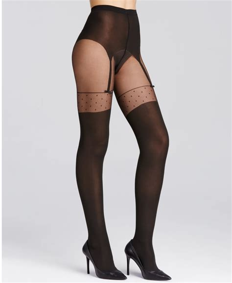 Wolford Suspender Tights wolford tights tights from luxury legs uk