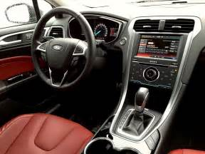Ford Fusion Interior Capsule Review 2015 Ford Fusion Titanium Awd