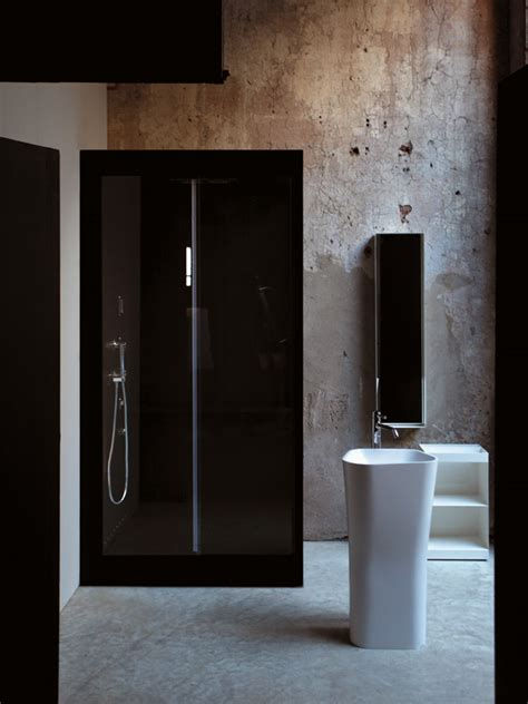 Small Shower Cabin by Rectangular Aluminium Shower Cabin Avec Small Avec Collection By Kos By Zucchetti Design