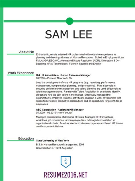 Resume Format Tips Proper Resume Format Learnhowtoloseweight Net