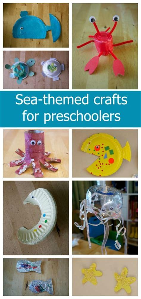 sea creature crafts for sea themed crafts for preschoolers hearts big