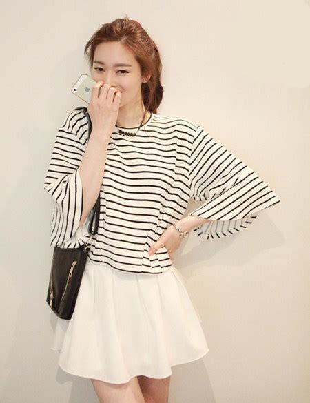 Kaos Line Koreanstyle New Update kpop fashion for skirts www pixshark images galleries with a bite