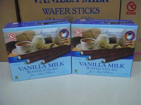 jual kugi wafer stick vanilla coklat 320gr biskuit ramadhan di lapak grandstory boniarimbi